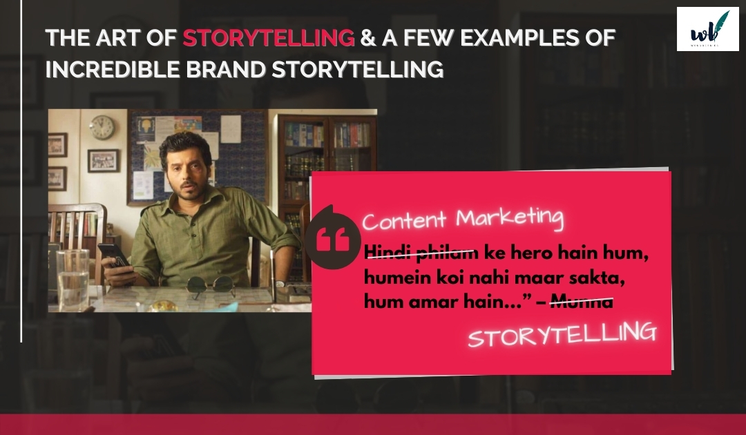 Why the Art of StorytellingIs a Necessity forContent Marketing