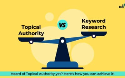 Topical Authority- is keyword research becoming passé?